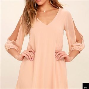 Lulu's Dresses - Lulu's Shifting Dear long sleeve dress